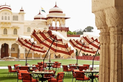 Verandah Café - Multi-cuisine Restaurant at Rambagh Palace, Jaipur
