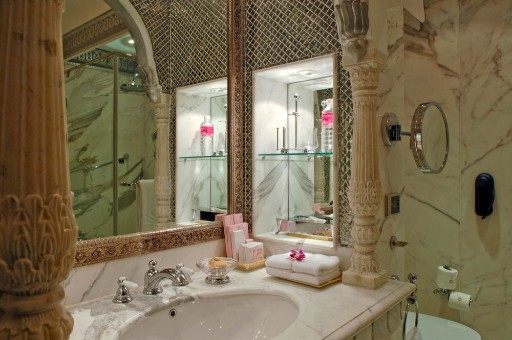 Palace Room Bathroom - Rambagh Palace, Jaipur