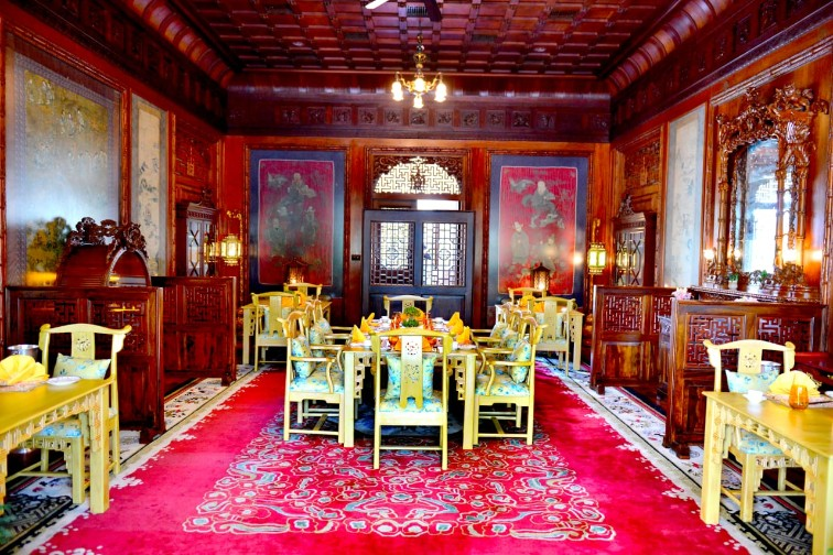 Fine Dining Restaurants - Rambagh Palace, Jaipur