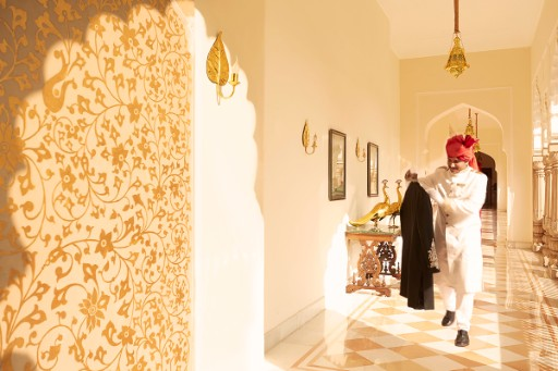Butler Services at Rambagh Palace, Jaipur