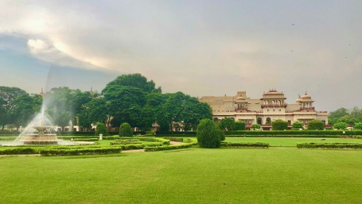 Naksha Lawns at Rambagh Palace, Jaipur