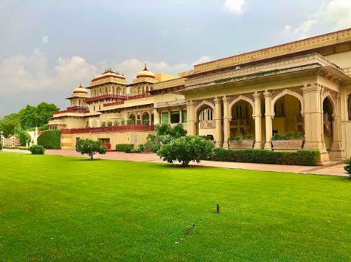 Oriental Lawns at Rambagh Palace, Jaipur
