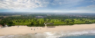 Aerial View of The Best Beach in Benaulim near Taj Exotica Resort & Spa, Goa