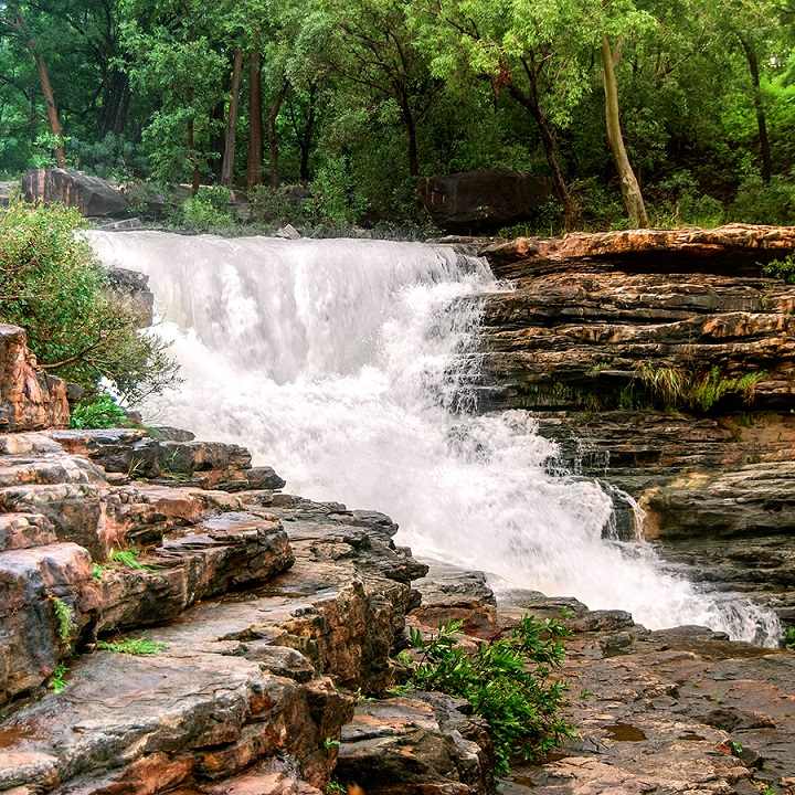 Pandav Falls and Caves Panna