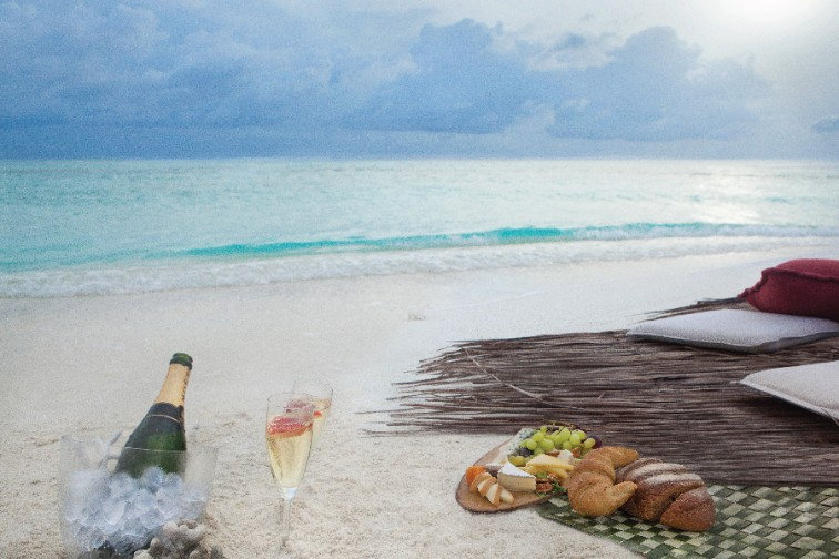 Champange Breakfast at Vivanta By Taj Coral Reef, Maldives - 3x2