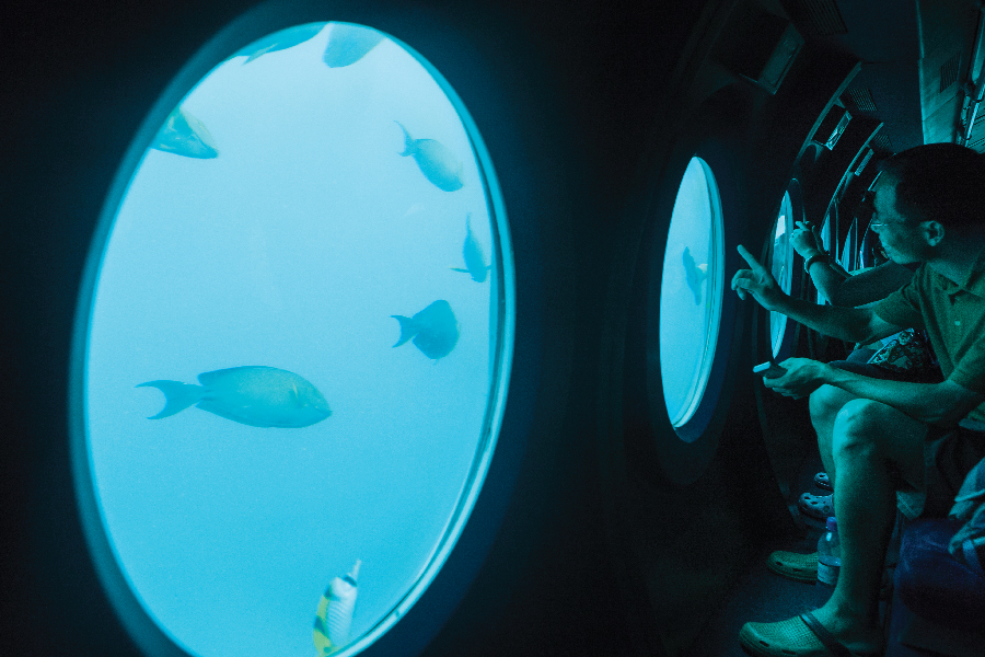 Submarine Experience at Vivanta By Taj Coral Reef, Maldives - 3x2
