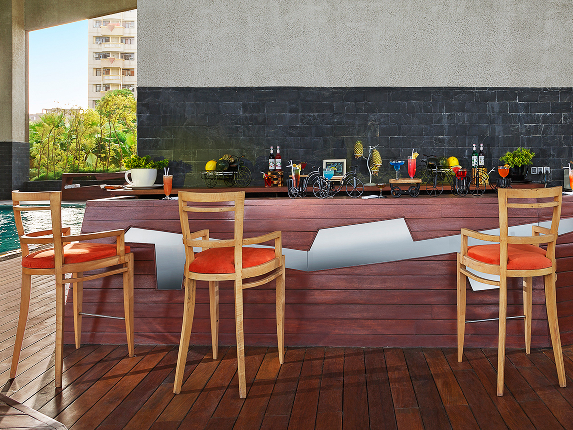 Celcius Pool Bar At Vivanta Dwarka