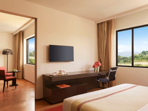 Deluxe Allure Suites with City View at Taj