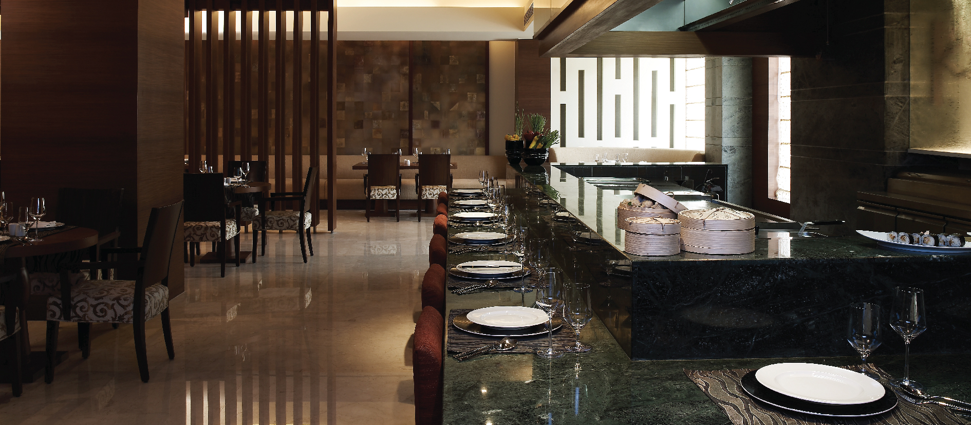 Finest Asian Restaurants at Vivanta Panaji, Goa