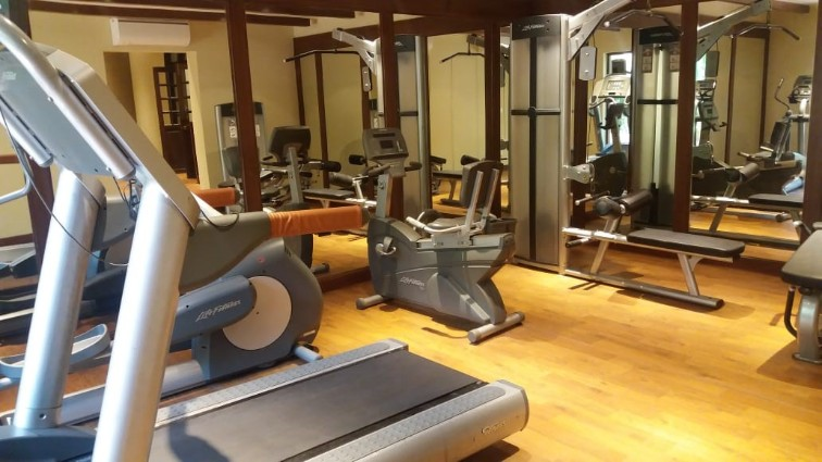 Fitness Centre at Taj Kumarakom Resort & Spa, Kerala