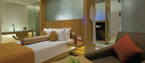 Deluxe delight rooms with plush interiors at Taj