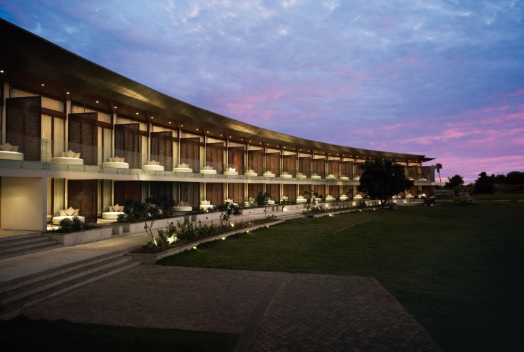Luxury Façade at Taj Fishermanâ  s Cove Resort & Spa, Chennai