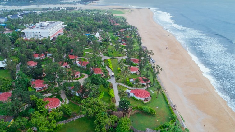 Aerial View at Taj Fishermanâ  s Cove Resort & Spa, Chennai