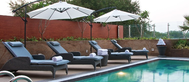 Relax and Unwind by the Pool at Taj