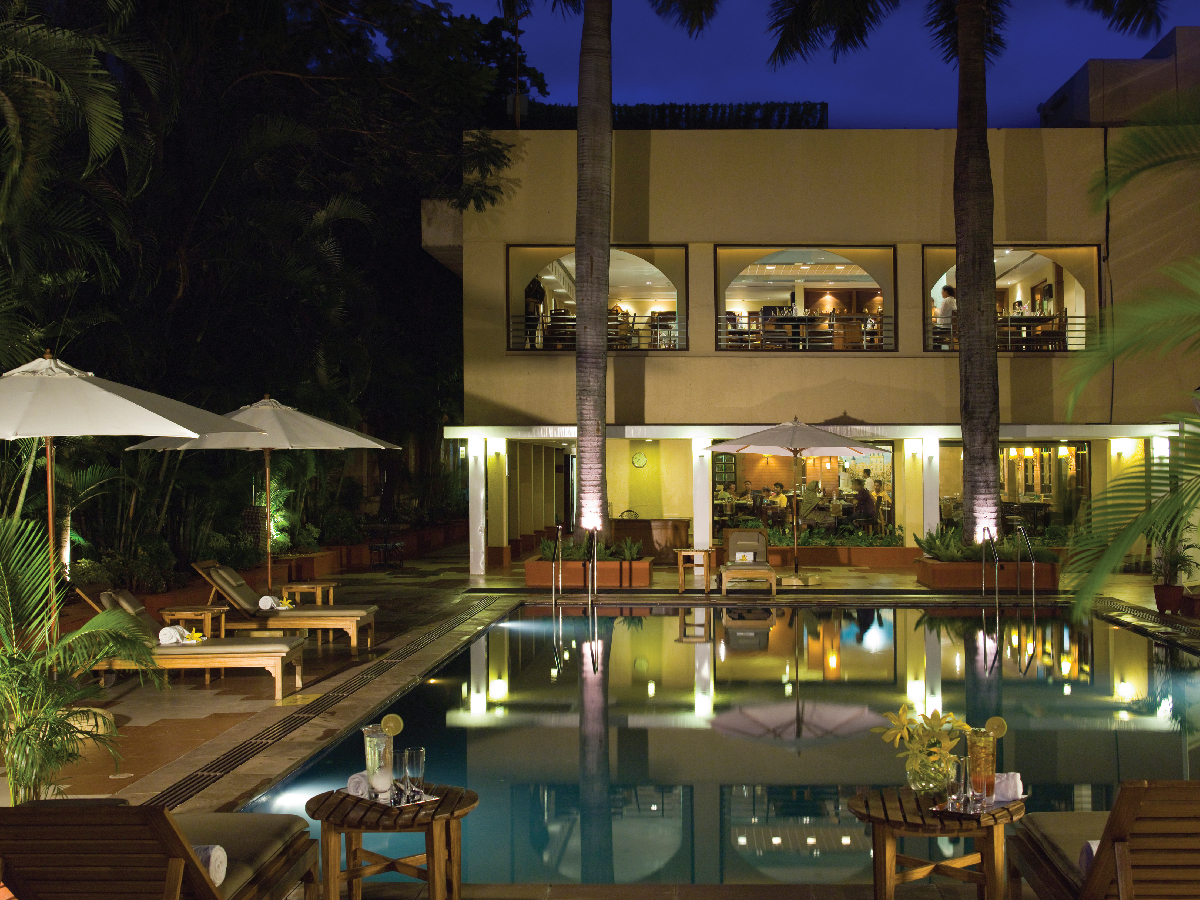 Relax by the Pool at Vivanta Blue Diamond,Pune