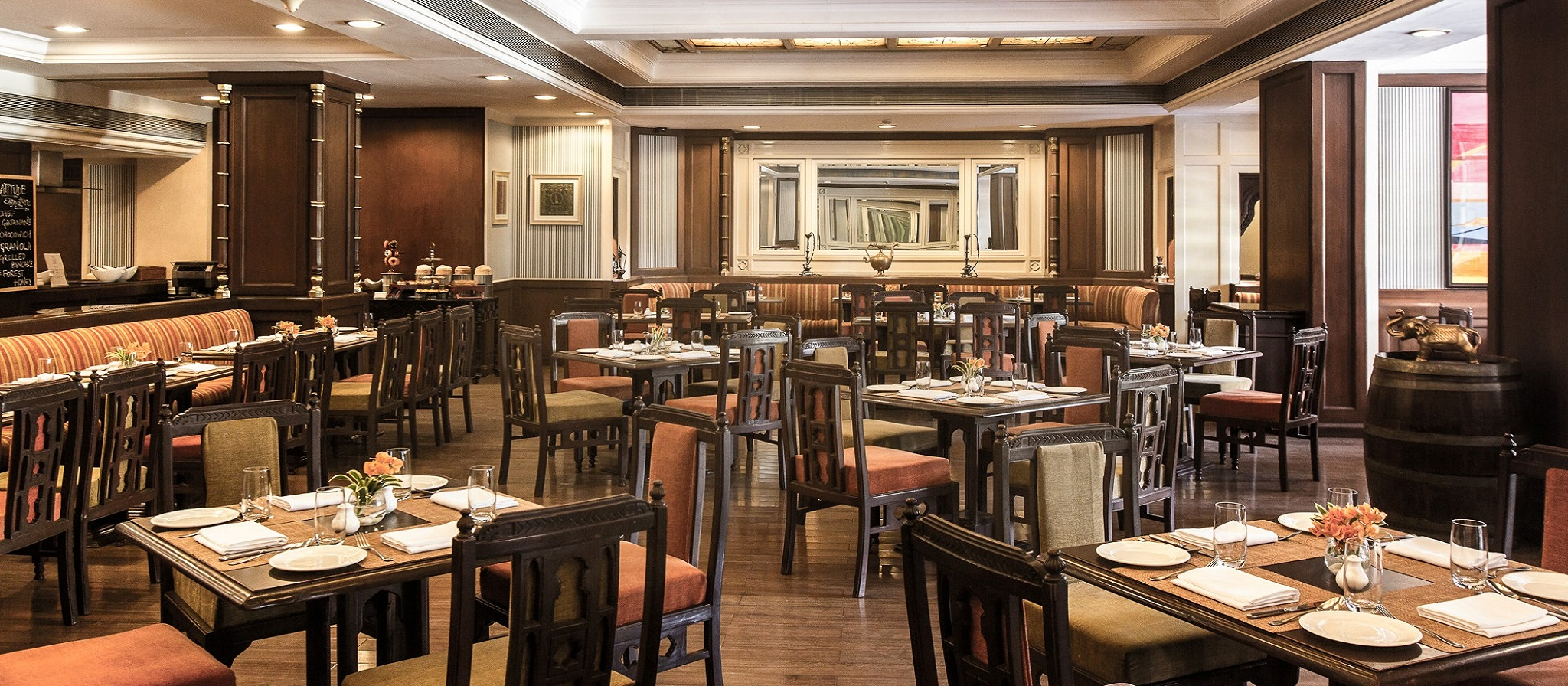 Lattitude Restaurant at Vivanta Aurangabad Banner